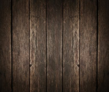 Old, grunge wood panels used as background stock vector