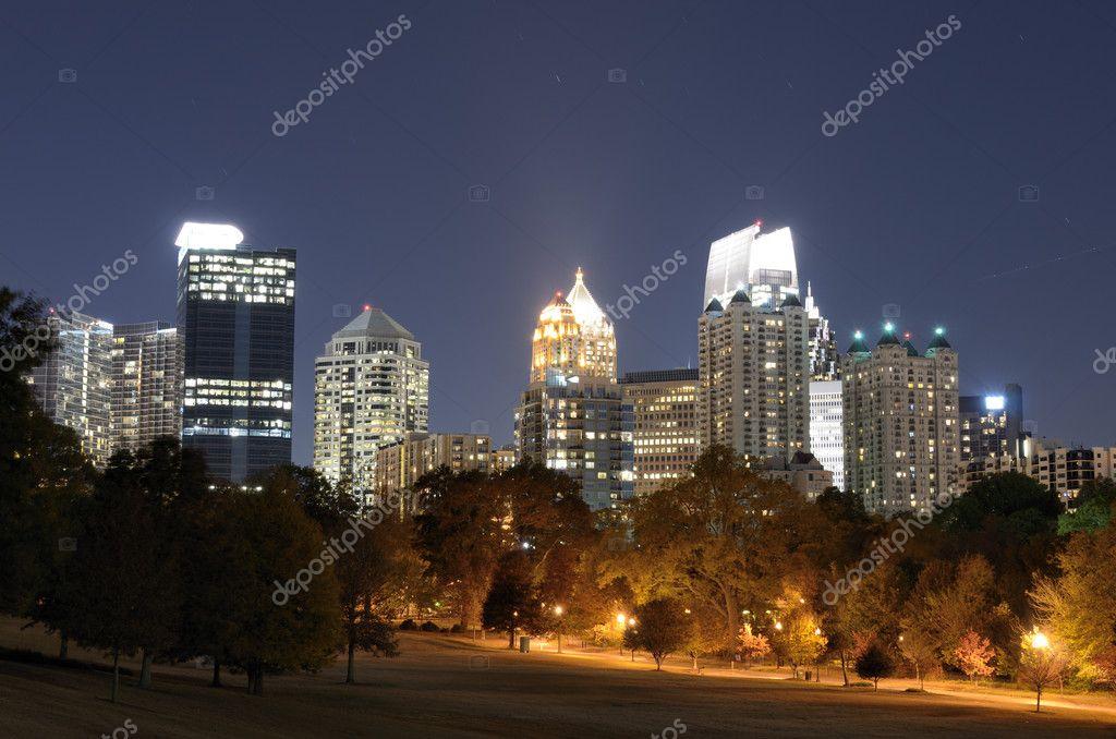Midtown Atlanta Cityscape