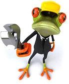 žába pracovník