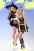 dvě černé čarodějnice