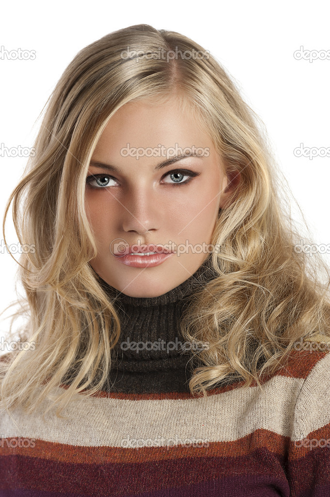 Eyes pretty blue and hair girls with blonde Rarest Hair