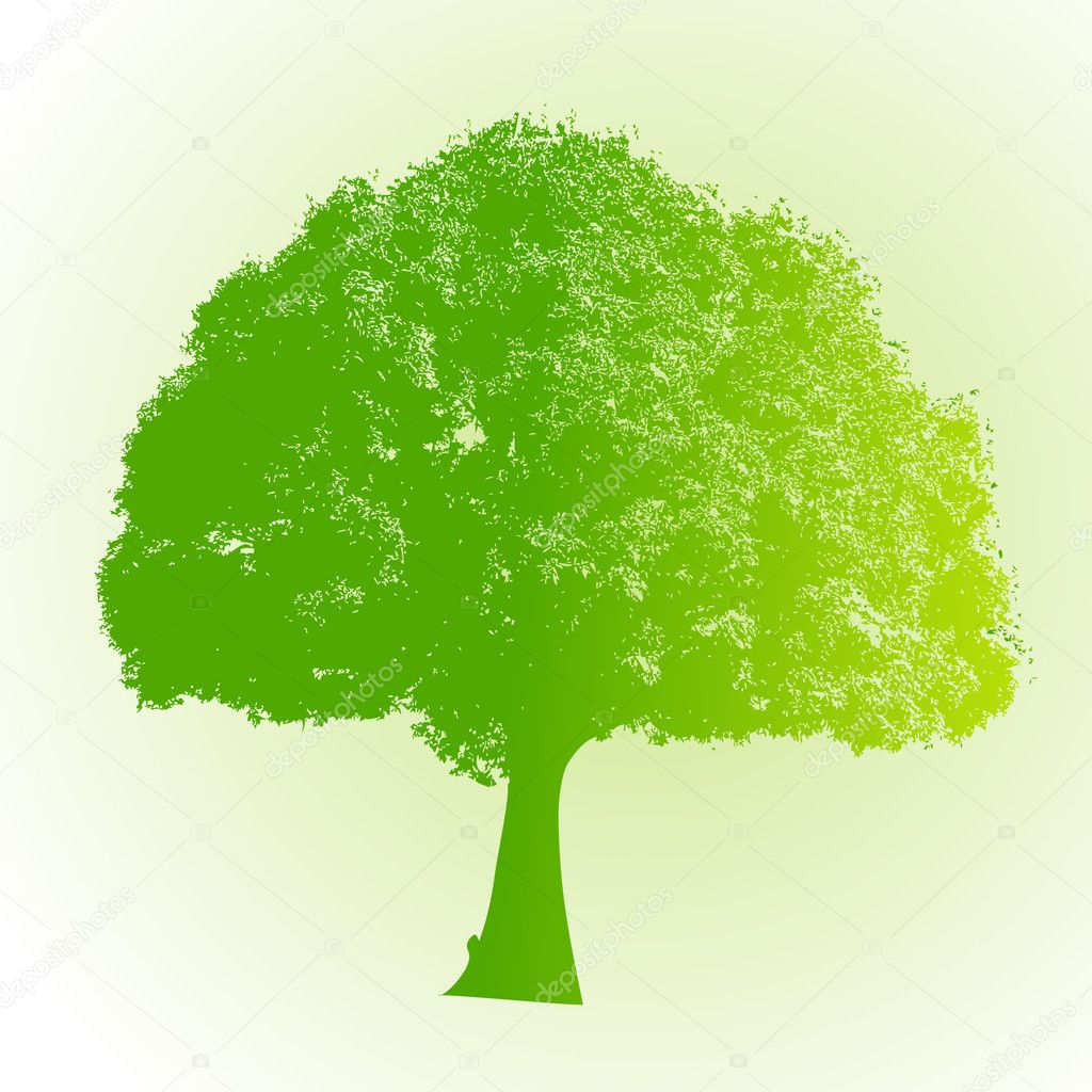 Eco Friendly Green Tree
