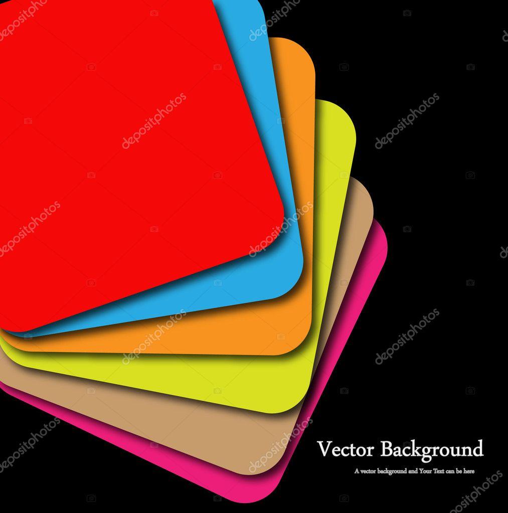 plantilla de paleta de color — Archivo Imágenes Vectoriales © baavli ...