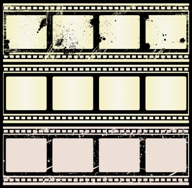 Retro Film Strips