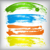 Absztrakt színes stroke