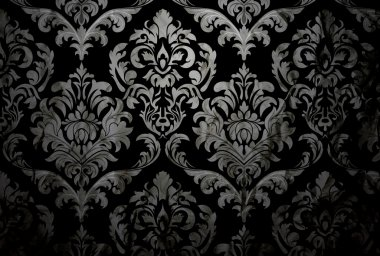 Dark Damask Background