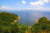 hong kong táj a hegyek