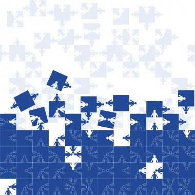 Friendship team puzzle