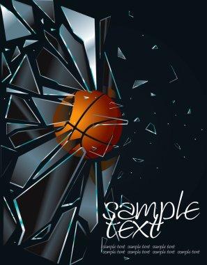 Broken Glass Basketball