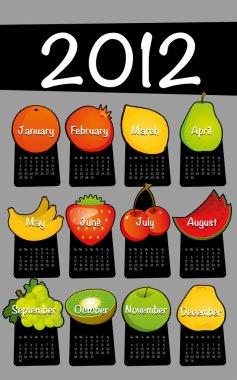 Calendar Design 2012 Set 2