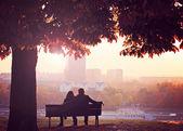 Fotografie romantický pár