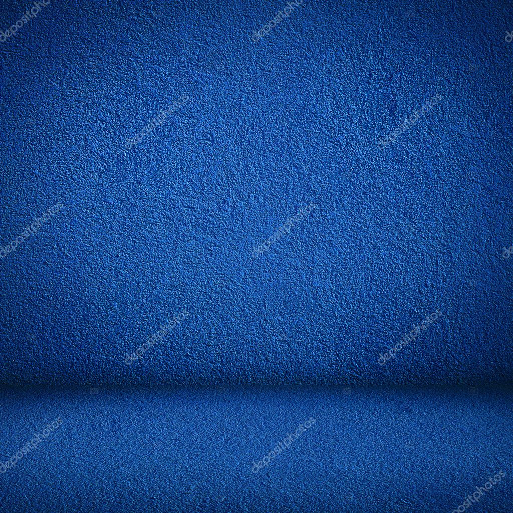 Blue wall and floor interior — Stock Photo © zajac #7445032