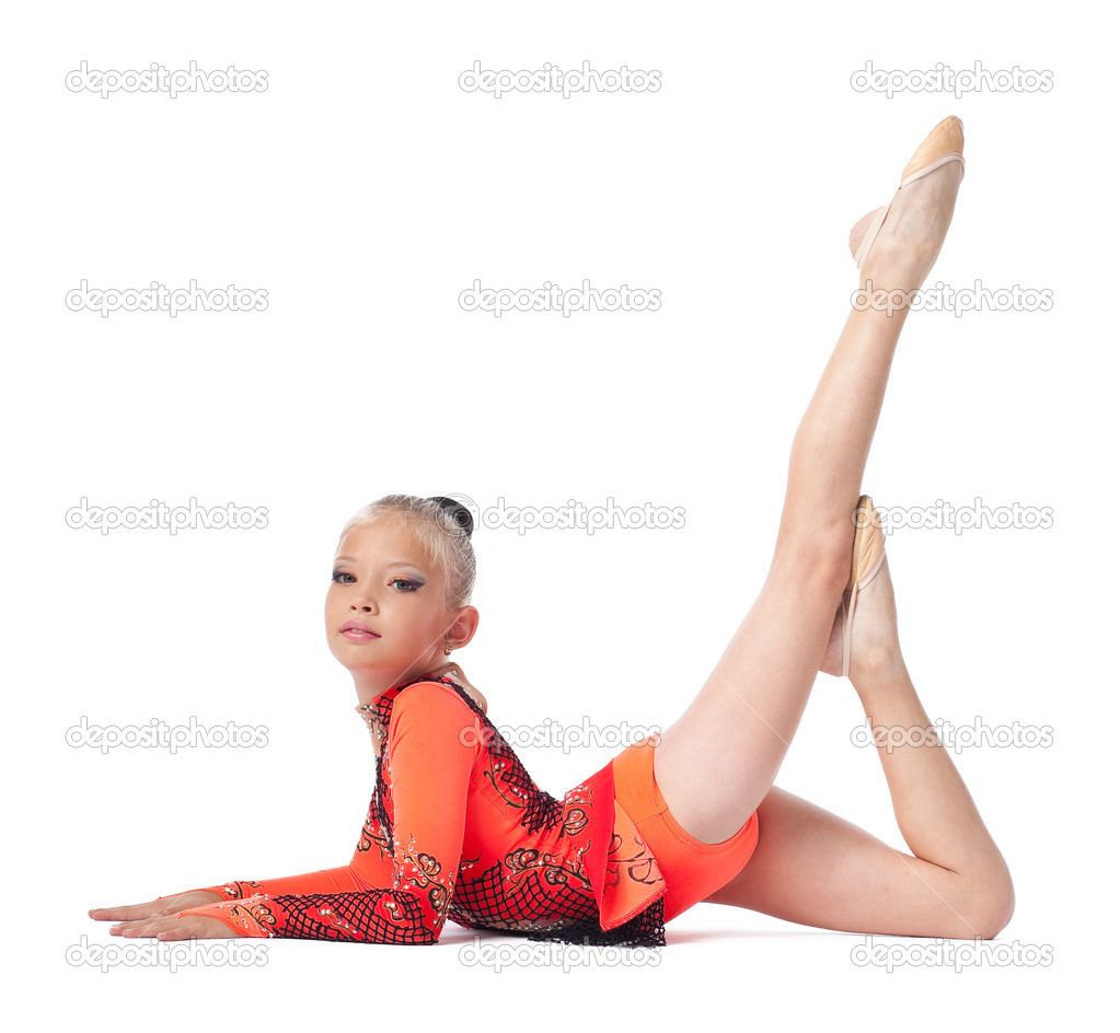 Jeune gymnaste adolescent video