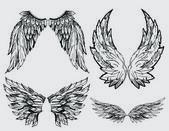 Flügel-Vektorsatz