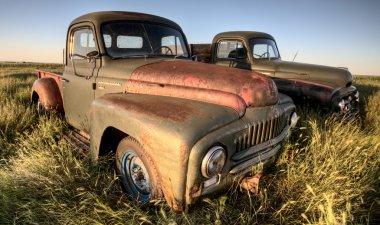 Vintage Farm Trucks