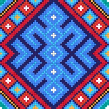 Ethnic slavic seamless pattern#10