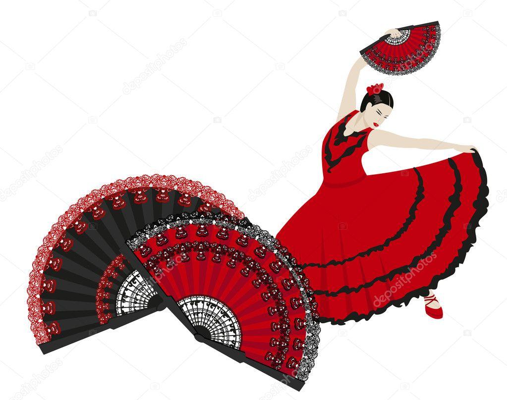 flamenco � stock vector 169 dayzeren 6770957