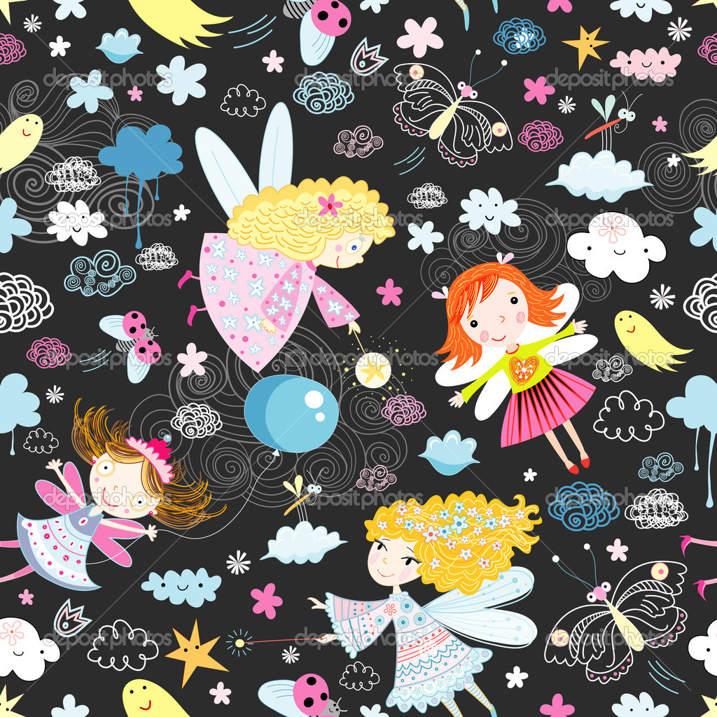 Texture of the fun of fairies