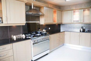 Modern kitchen in an apartment