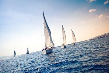 Sailing ship yachts
