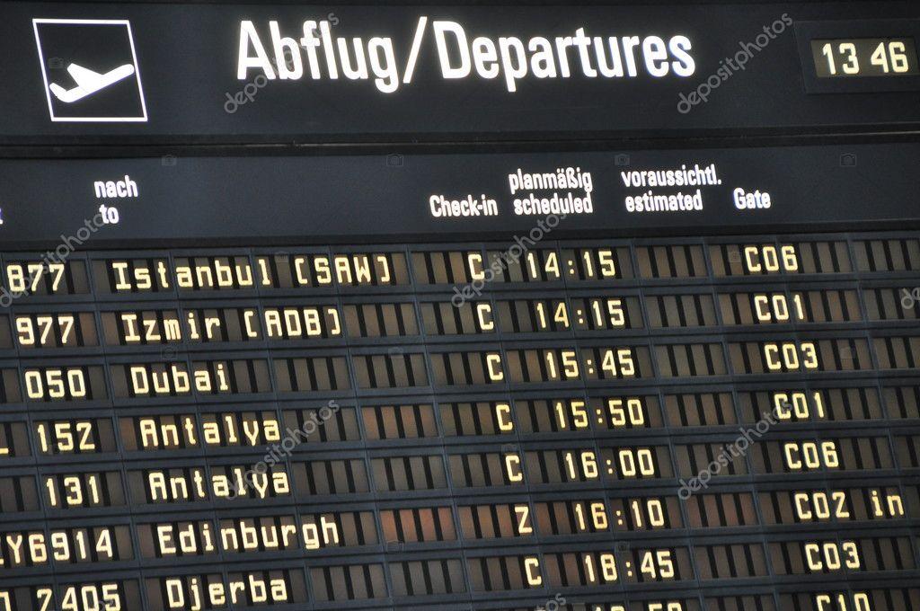 Izmir Flughafen Abflug