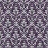 modello senza saldatura damascato in viola e grigio
