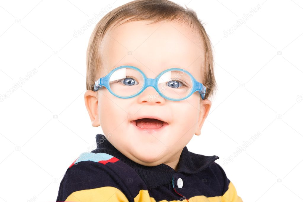 barn med glasögon — Stockfotografi © TpaBMa2  7531787 d82480f06f35d