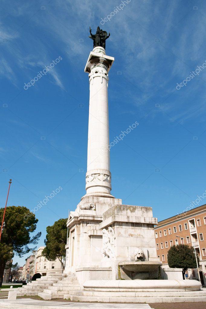 Piazzale della Vittoria in Forlì, Italy