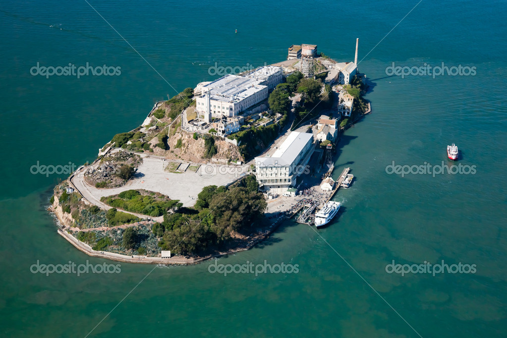 Alcatraz jail in San Francisco