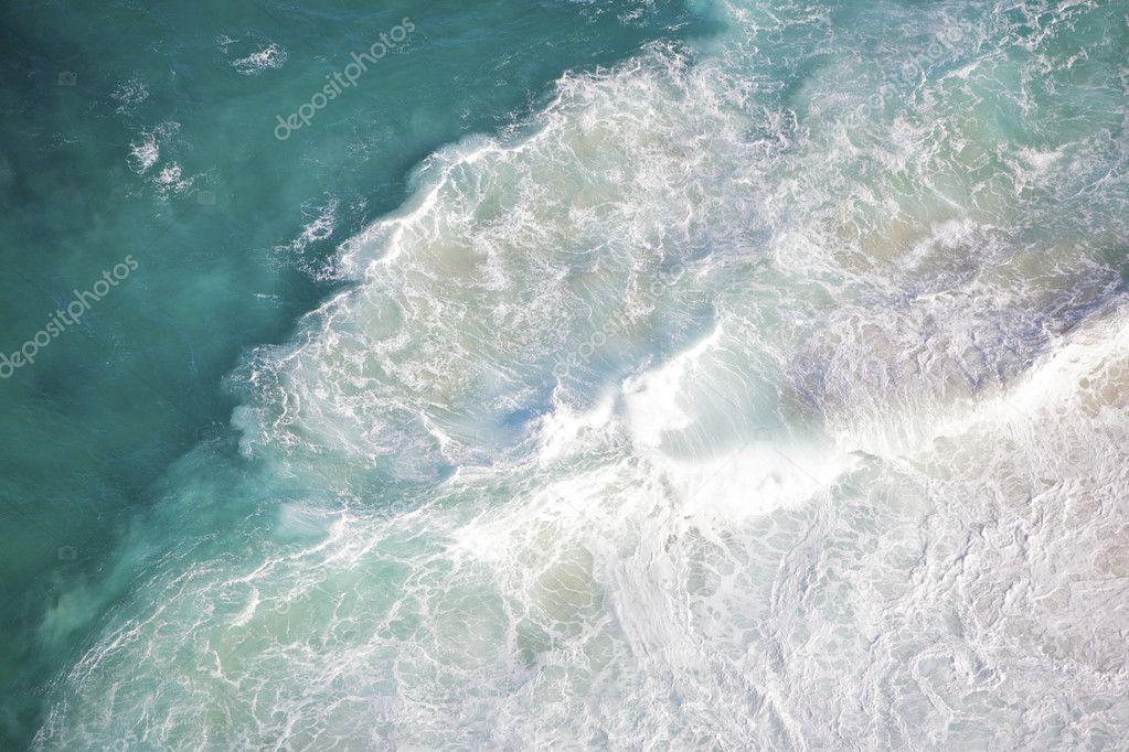 Deep blue ocean background