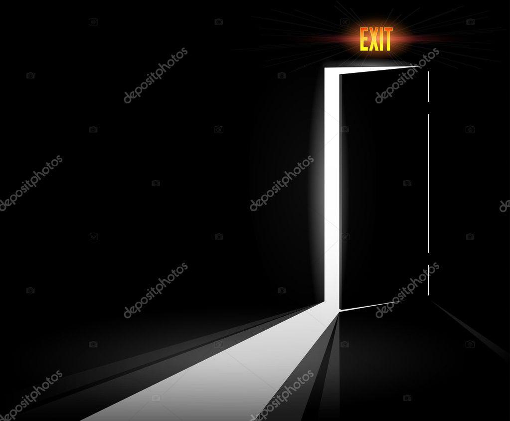 Open Exit Door