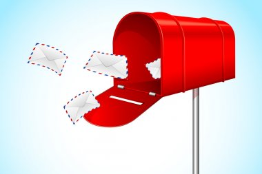 Mail Box with Envelope