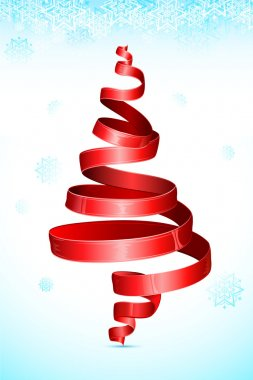 Christmas Tree shape Ribbon