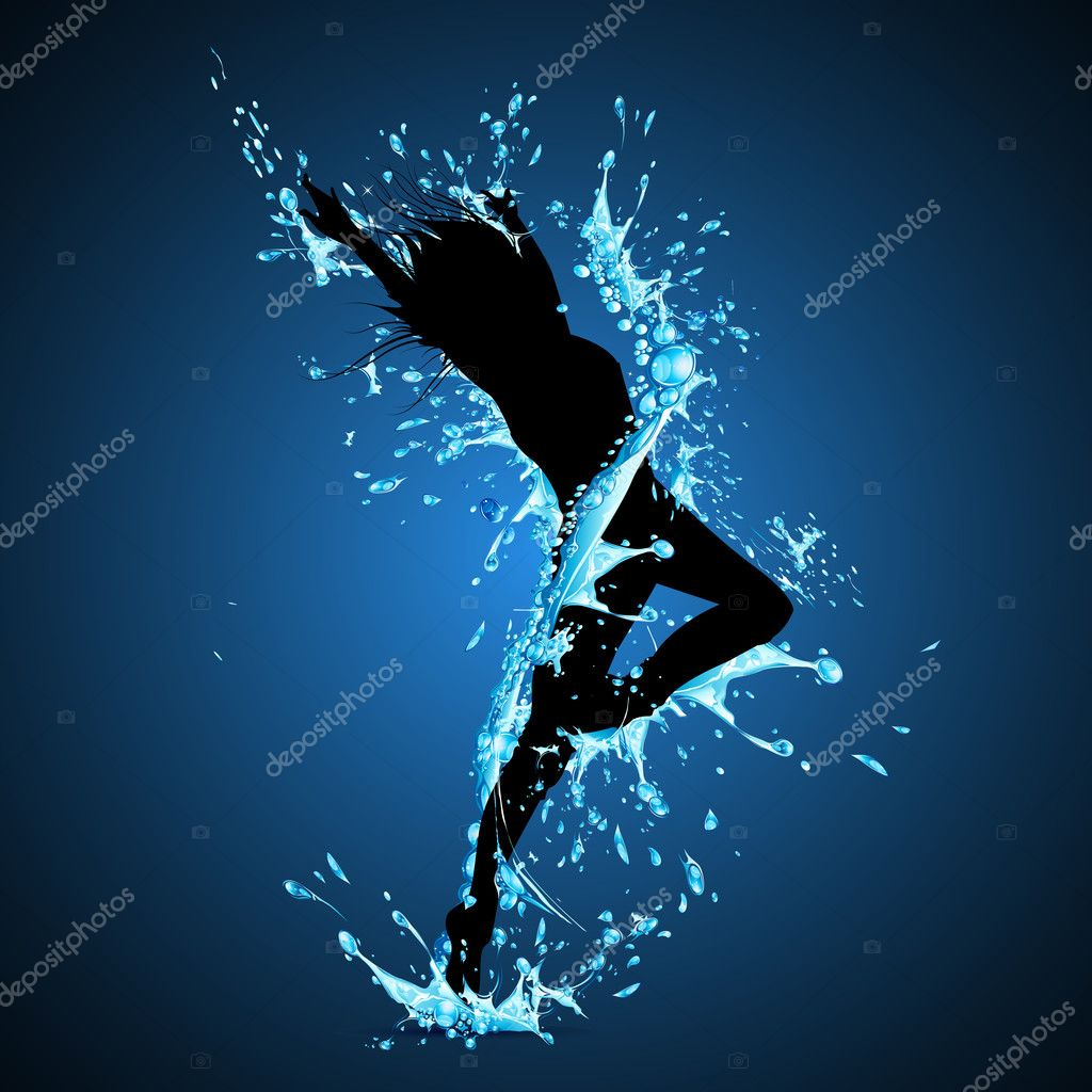 Splashing Dancing Lady