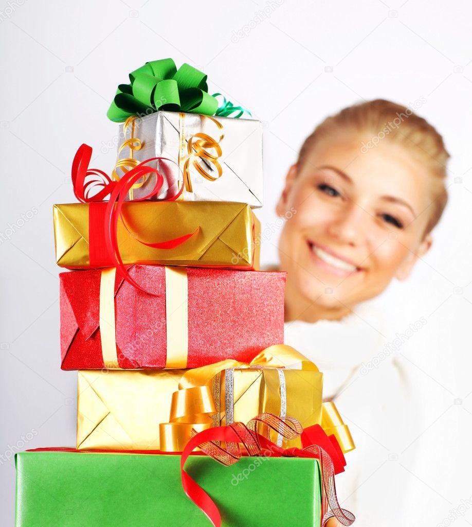 Много подарков для девушек 392