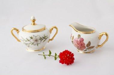 Old china teapot 18 century