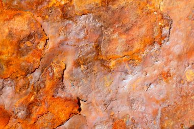 Aged rusty iron texture grunge background