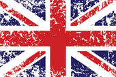 Grunge Flagge des Vereinigten Königreichs