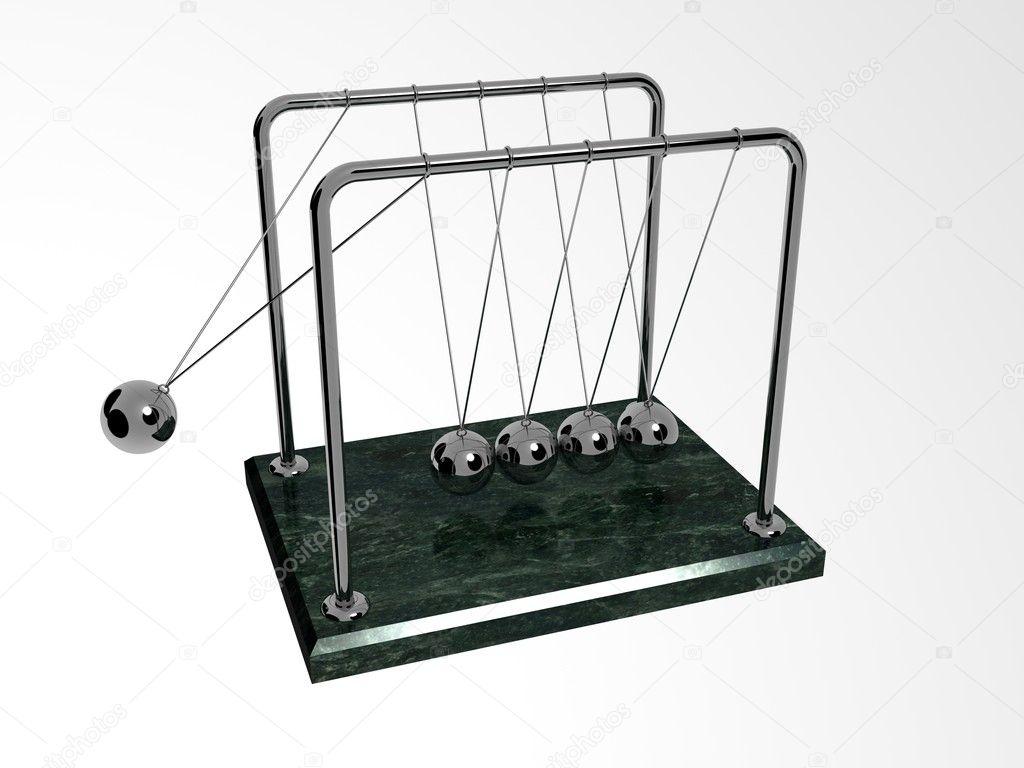 newton s ball pendulum stock photo borzaya 7940430
