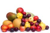 Fotografie Haufen von frischen Früchten