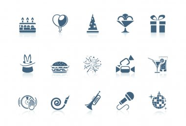 Birthday icons | Piccolo series