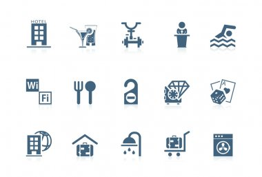 Hotel services icons | Piccolo series