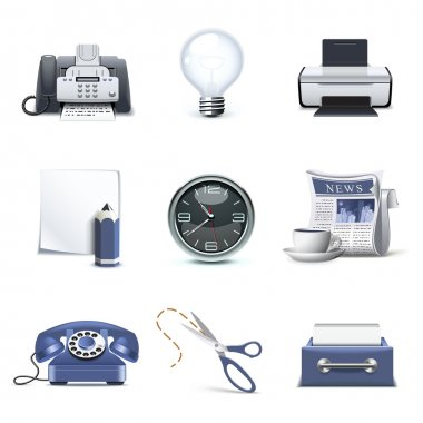 Office icons | Bella series