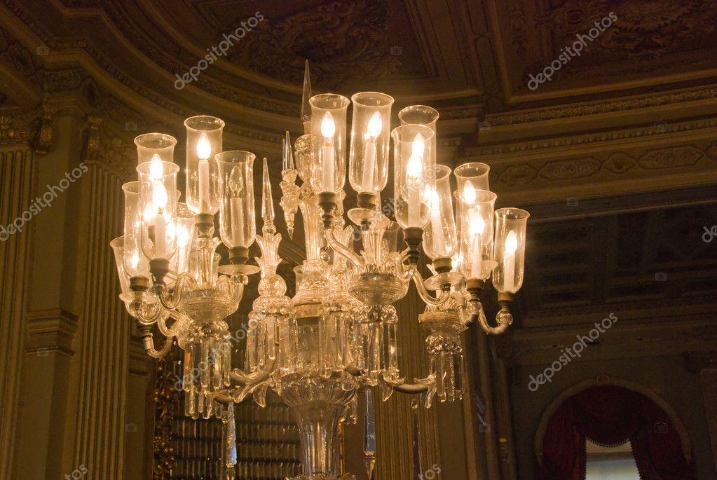 Lampadario Da Ingresso : Lampadario nellingresso principale sala palazzo bahche dolma