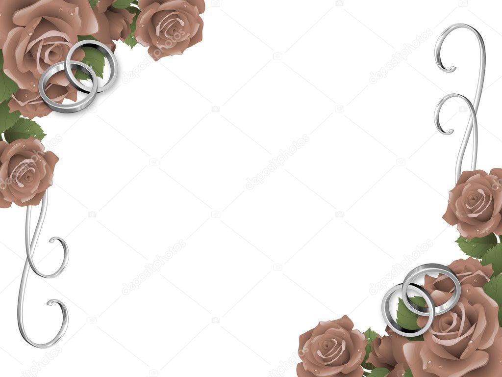 fond mariage, carte d'invitation — Photographie dacasdo