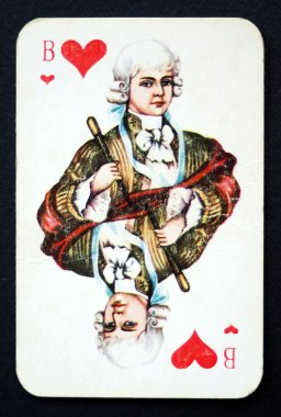 Playing cards gendarme