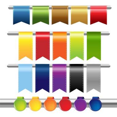Color Web Ribbons