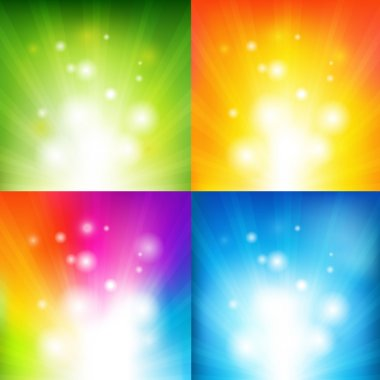 Color Backgrounds With Beams