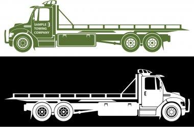 Flatbed Truck Premium Vector Download For Commercial Use Format Eps Cdr Ai Svg Vector Illustration Graphic Art Design