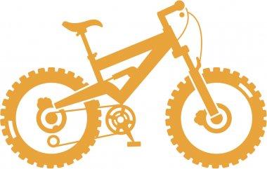 Simplified mountain bike